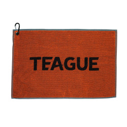 TEAGUE Towel - Orange/Black