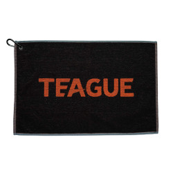 TEAGUE Towel - Black/Orange